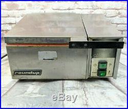 Roundup Steamer Countertop Food Warmer Antunes Auto Water Sandwich DFW-200CF