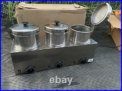 Server Triple FS-4 85900 Food Warmer with4 Qt insets