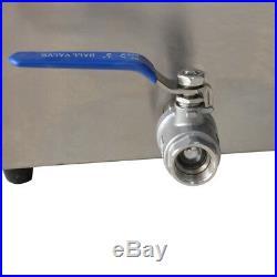 TOP5-Pan Steamer Bain-Marie Buffet Countertop Food Warmer Steam Table 110V 1500W