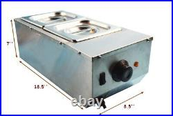 Two Pan Chocolate Melter Stainless Steel Automatically Temperature Control