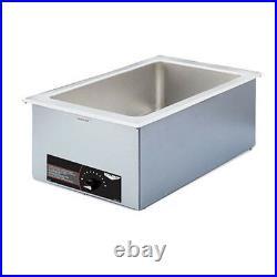 Vollrath 72001 15W Cayenne Full Size Countertop Food Warmer