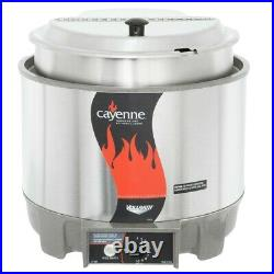 Vollrath 72009 11 Qt Round Countertop Food Warmer Kit