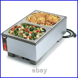 Vollrath 72020 Heat and Serve Full-Size Food Warmer and Rethermalizer Only