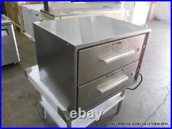 Vulcan 28 2 Drawer Countertop Food Warmer