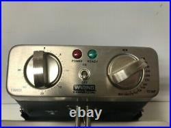 WARING WDF1550 15 LB. COMMERCIAL COUNTERTOP DEEP FRYER 240V mle-l (PDS005122)
