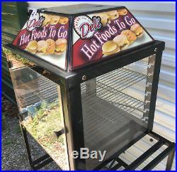 WISCO 690-16 Food Warmer Cabinet food oven display sandwich 2 door 690