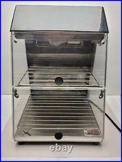 WISCO 727 Food Warmer Cabinet NEW case food oven pizza hot display sandwich