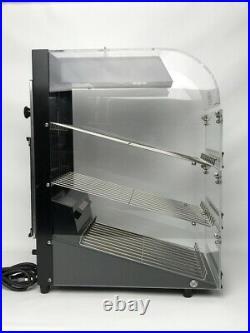 Wisco 780 Food Merchandiser Warmer Display Countertop 21.5 H 9.5 W 16.5 D EXTRAS