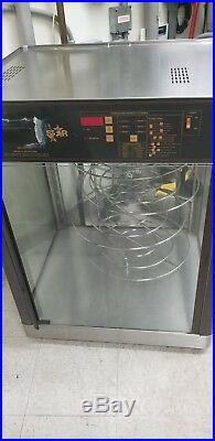 XL STAR Humidity Display Cabinet 4 Tier Pizza/ Hot Sandwich Food Warmer Holding